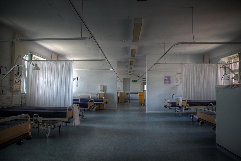 NHS empty beds app