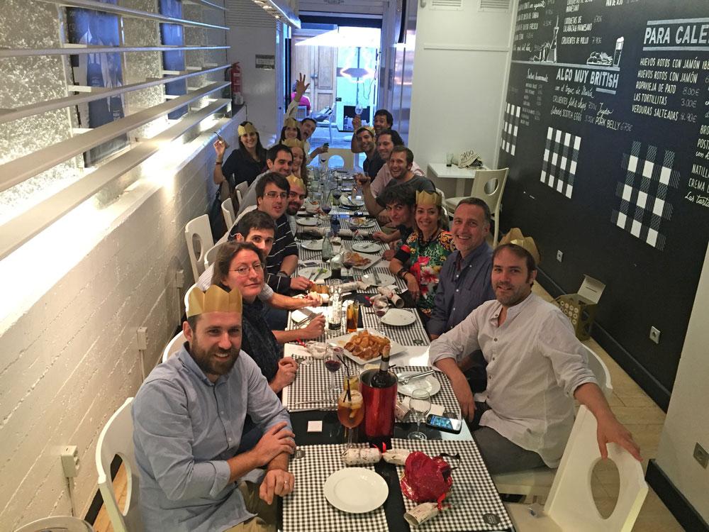 Canarian web development company Secret Source celebrating Xmas
