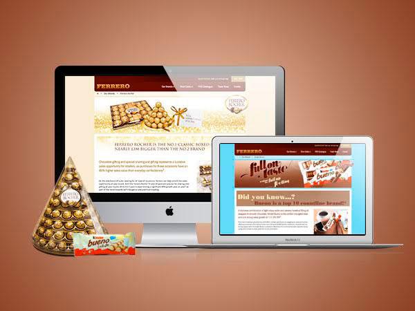 Ferrero Rocher website