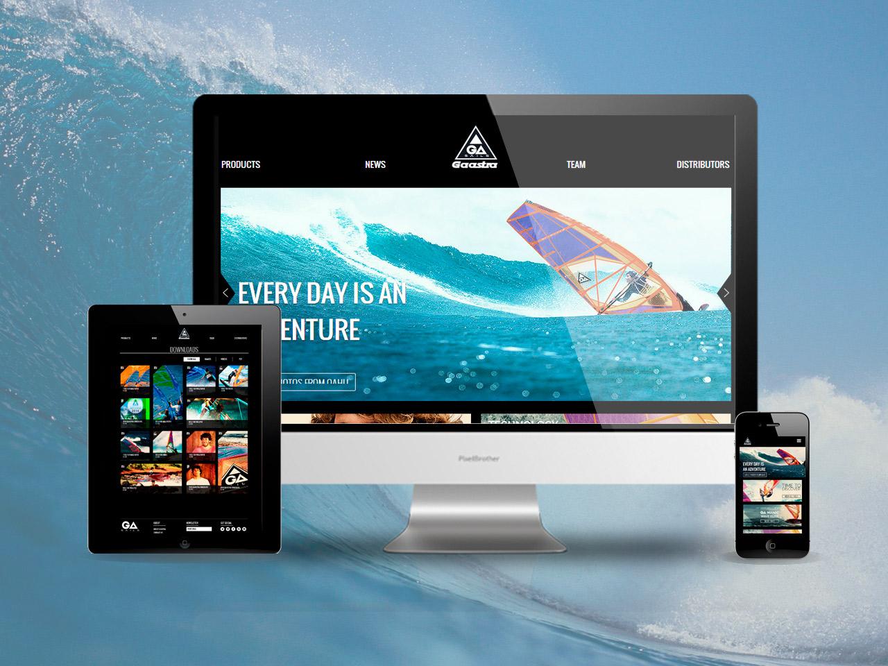 Gaastra website