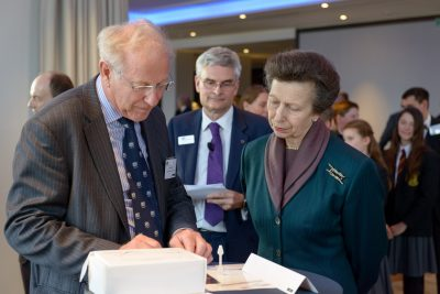 Secret Source app presented to the Princess Royal