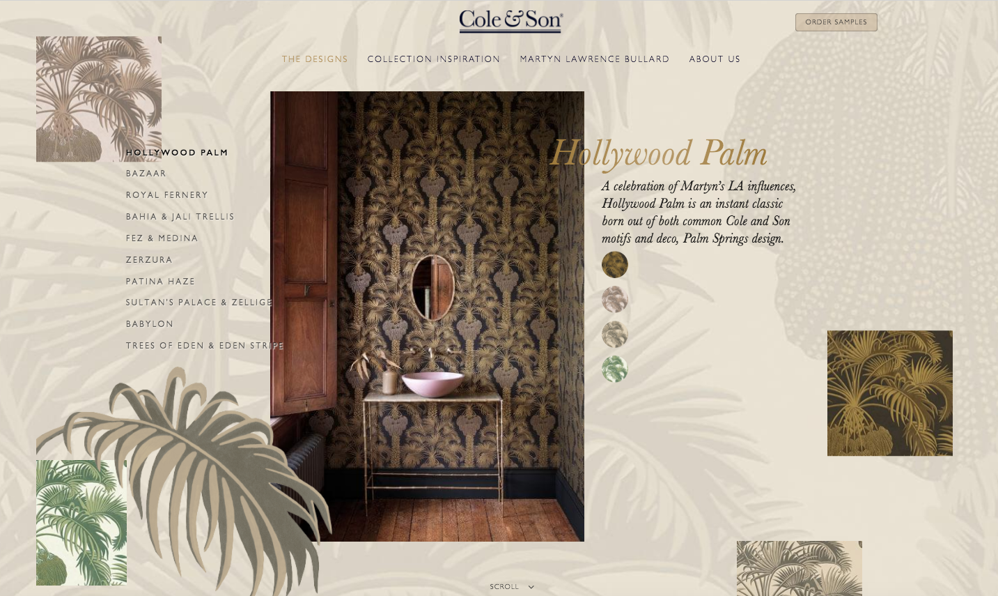 We launch new website for iconic British wallpaper maker