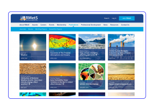 Royal Meteorological Society main page
