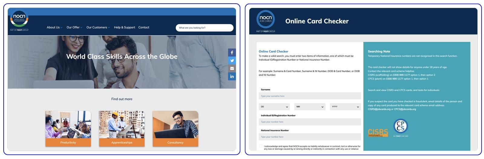 NOCN case study Request Emergency Cards
