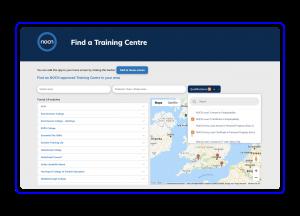 NOCN case study test Centre Search Tool